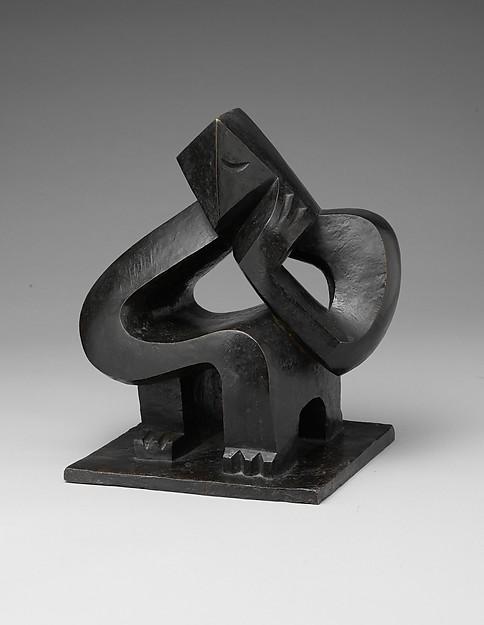 Jacques Lipchitz (American (born Lithuania), Druskininkai 1891–1973 Capri)_Seated Man (Meditation) 1925
