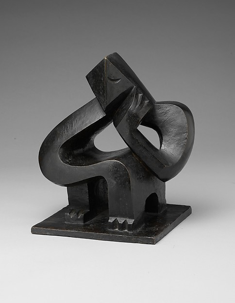 Jacques Lipchitz (American (born Lithuania), Druskininkai 1891–1973 Capri)_Seated Man (Meditation) 1925