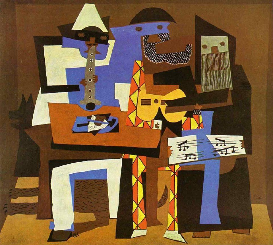 Pablo Picasso Three Musicians 1921