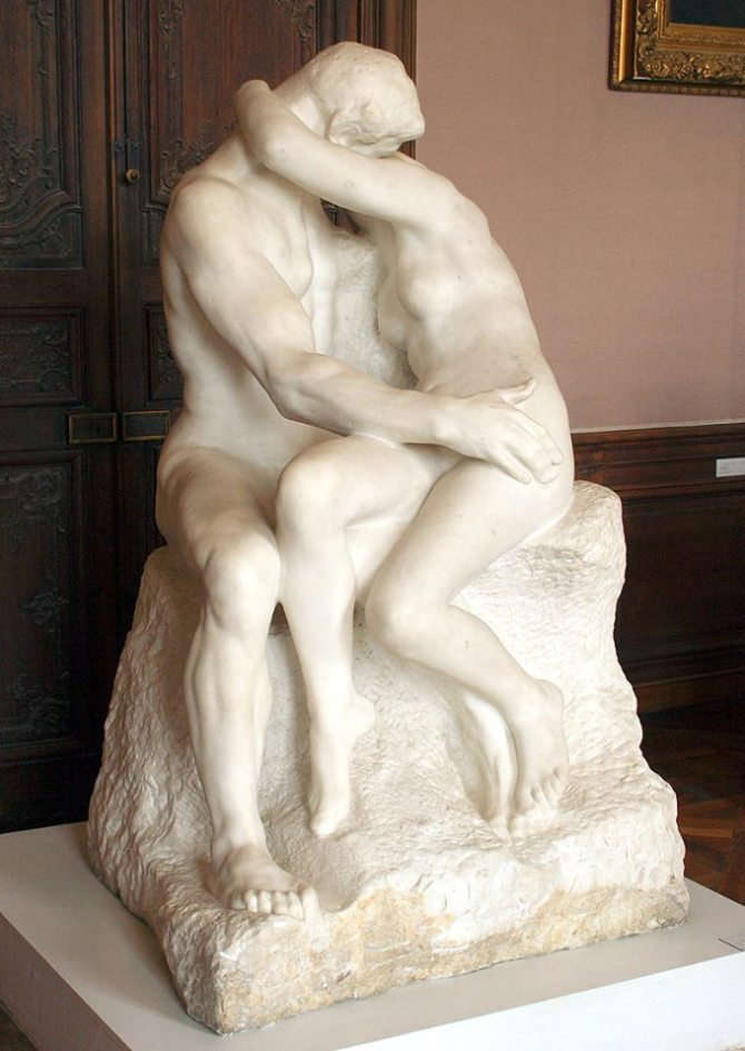 Auguste Rodin The Kiss 1882