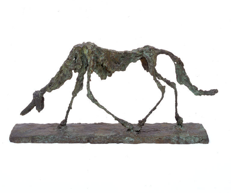 Giacometti Dog 1951 MOMA - The Museum of Modern Art NYC