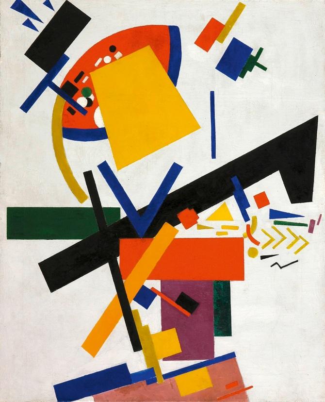 Malevich Suprematism 1915_Beyeler