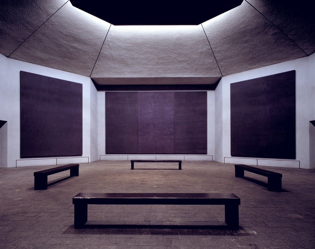 Rothko Chapel, 1964-1967 by Mark Rothko