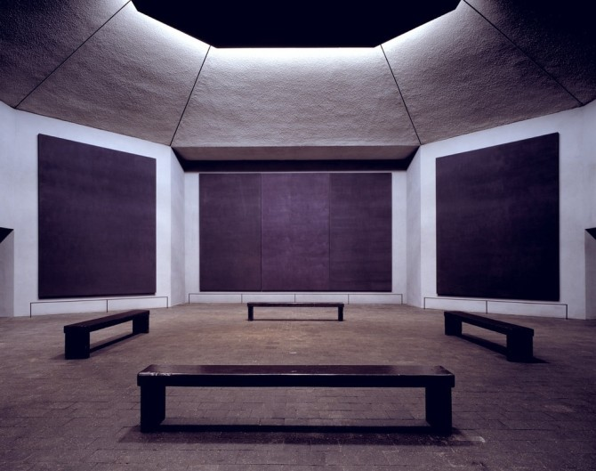 Rothko Chapel, 1964-1967 by Mark Rothko
