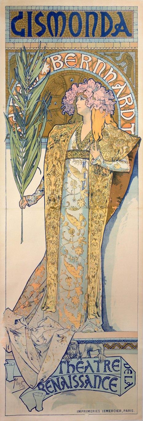 Alphons Mucha Poster for _Gismonda_ 1894
