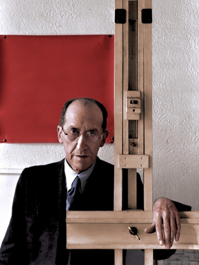 Mondrian - painters-in-color.tumblr.com