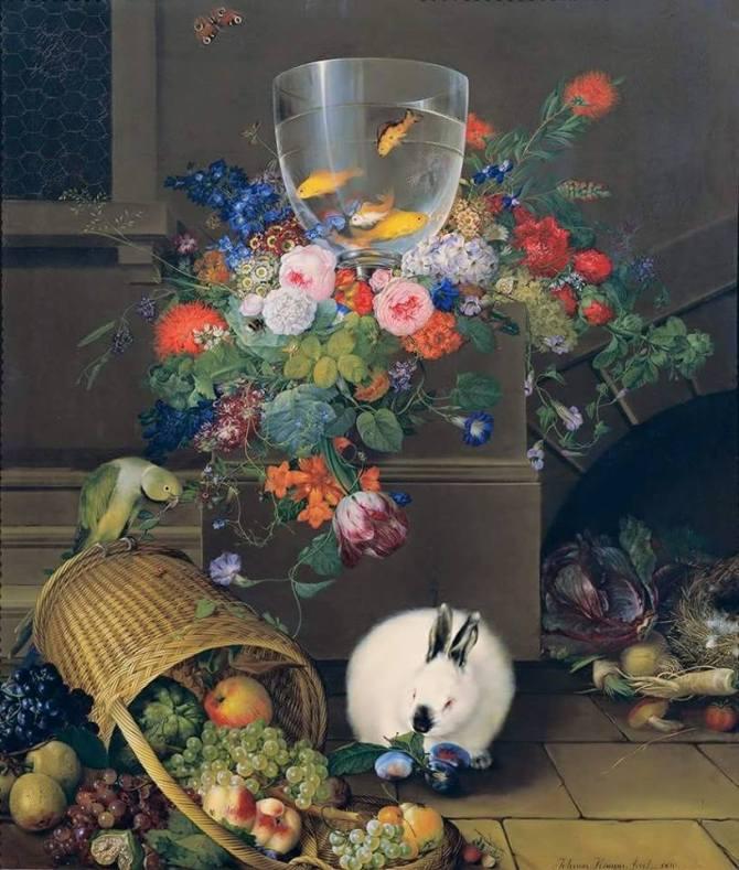 Johann Knapp_Still life 1810