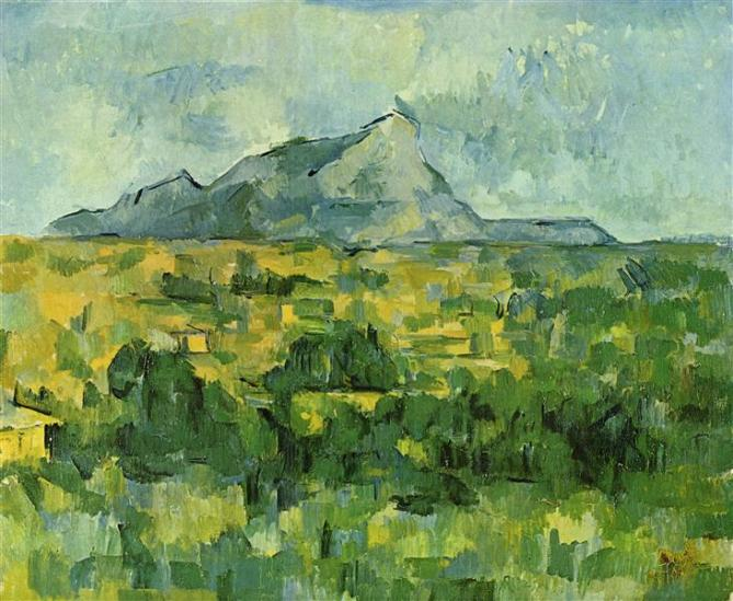 Cézanne Mont Sainte-Victoire ca. 1906