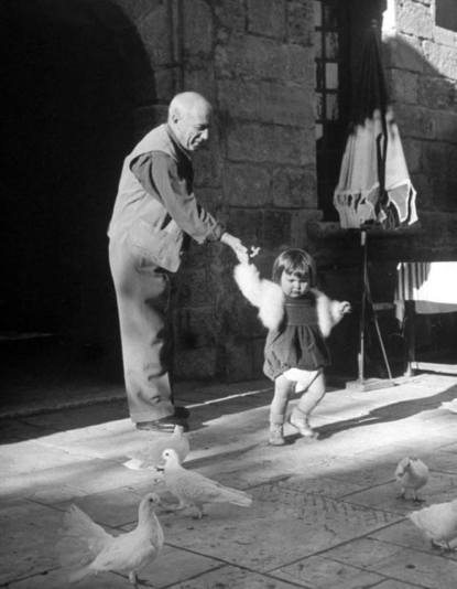 Pablo Picasso and his daughter Paloma, 1951 Photo by Dmitri Kessel—The LIFE Picture Collection_Getty Images.jpg
