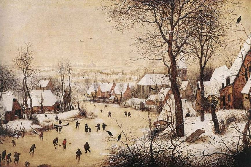 Breughel_Winter Landscape withh skaters