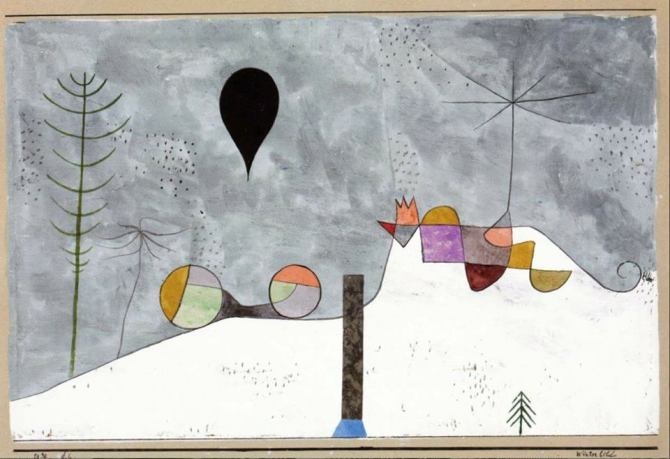 Paul Klee (German, born in Schwitzerland, 1879-1940)_Winterbild 1930