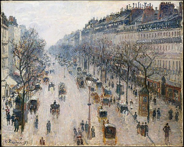 Pissarro Winter MET