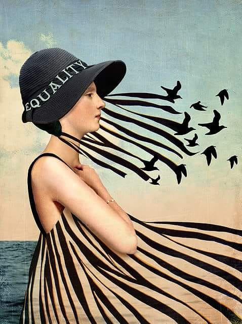 Catrin Welz-Stein (German, born 1972)_Equality 2018