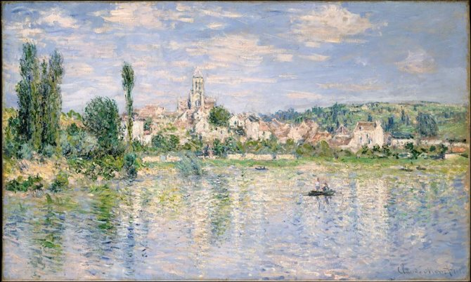 Claude Monet (French, 1840–1926)_Vétheuil in Summer 1880