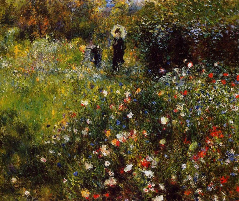 Pierre-Auguste Renoir (French, 1841-1919)_Summer Landscape 1875