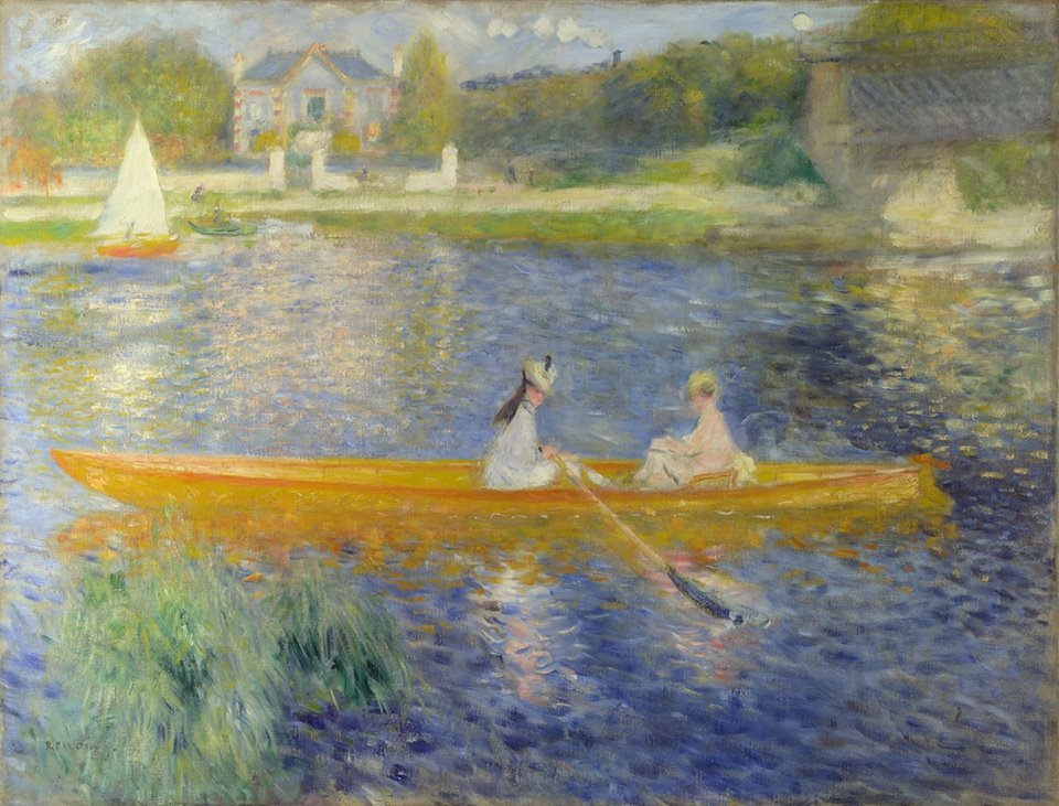 Pierre-Auguste Renoir (French, 1841-1919)_The Skiff (La Yole) 1875