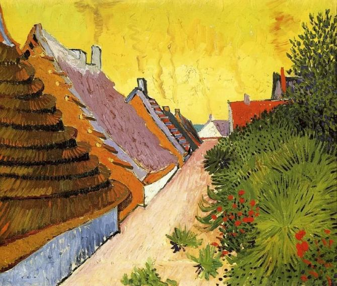 Vincent van Gogh (Dutch, 1853 - 1890)_Street in Saintes-Maries 1888