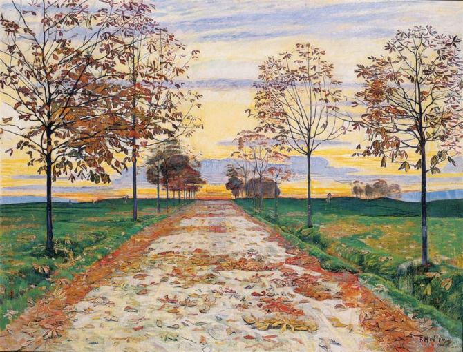 Ferdinand Hodler (Swiss, 1853–1918) Autumn Evening ca. 1892-1893.jpg