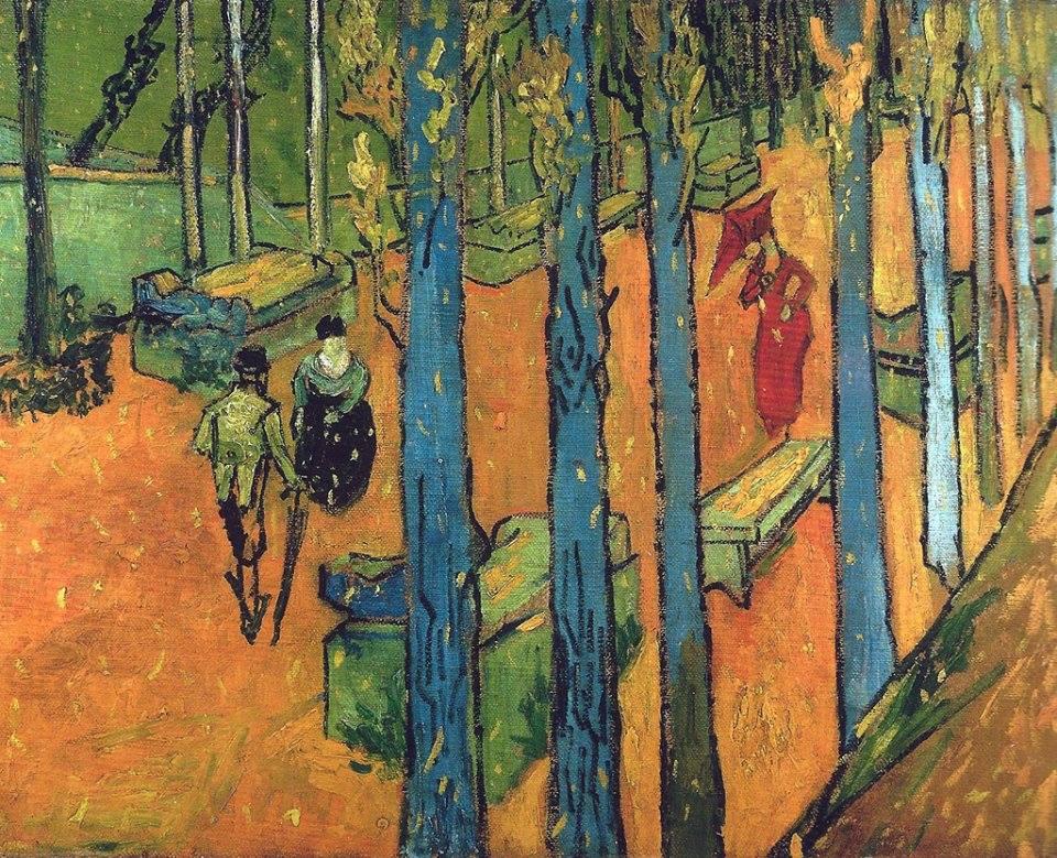Vincent Van Gogh (Dutch, 1853-1890) The Alyscamps ('Leaf-Fall'), November 1888.jpg