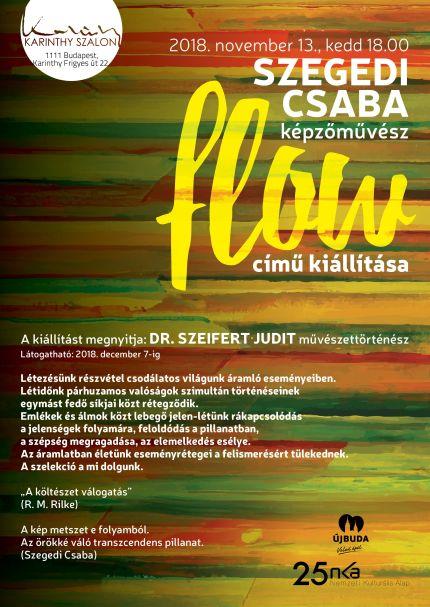 Szegedi Csaba meghívó