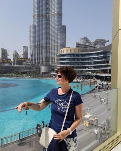 At Burj Khalifa