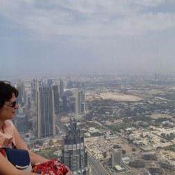 On the TOP of Burj Khalifa