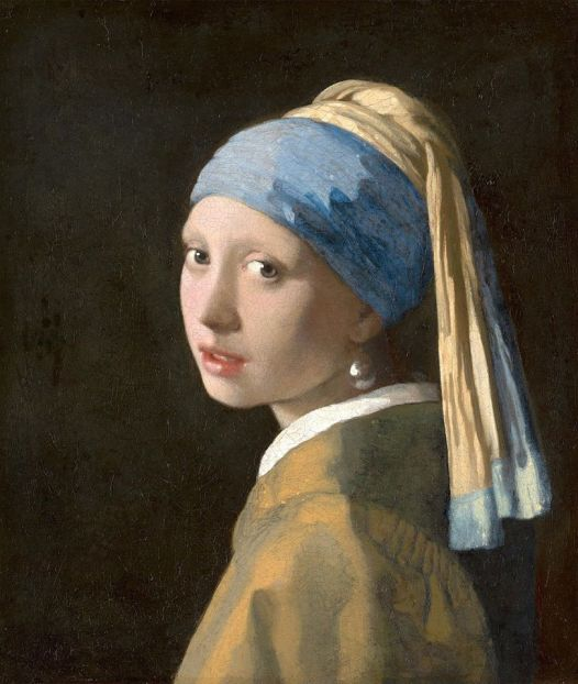 Johannes Vermeer (Dutch, 1632–1675)_Girl with a Pearl Earring ca. 1665