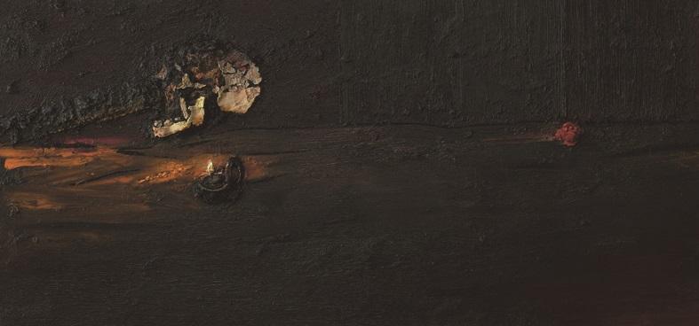 20. Vita contemplativa 2005 100x200 cm olaj vászon
