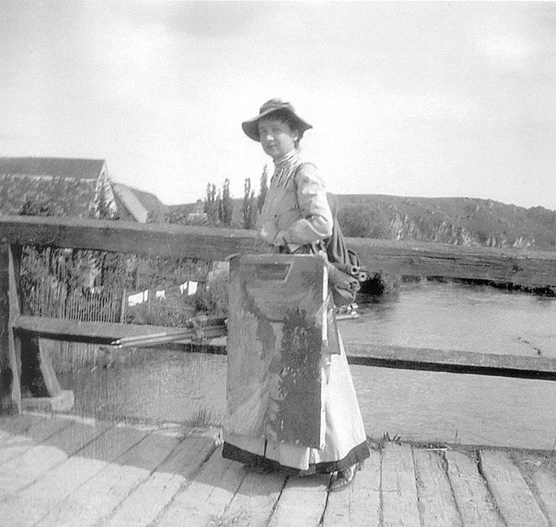 Gabriele_Münter_-_Kallmünz_Brücke_-_1903