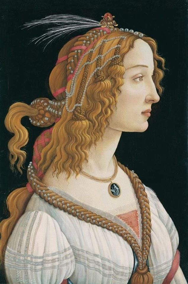 Sandro Botticelli (Italian, ca. 1445–1510)_Portrait of a Young Woman